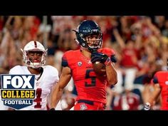 Ken Griffey Jr.'s son scores 38-yard TD against Stanford | 2016 College Football Highlights - YouTube