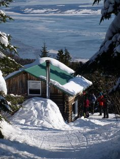 Winter in Charlevoix (Quebec) |Pinned from PinTo for iPad|
