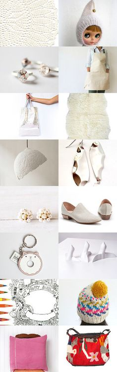 Beautiful whites with a touch of color by ArtMii