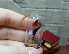 miniature butterfly dome by EV Miniatures