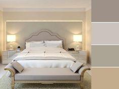 20 paletas de cores para quarto de casal para usar na decoração Home Design Decor, House Design, Home Decor, Interior House Colors, Double Room, Bedroom Styles, Color Shades, Sweet Home, Inspiration