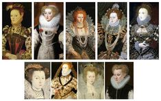 Most hairstyles were influenced by Queen Elizabeth. Her hair color was emulated High Forehead, Tudor Monarchs, Charles Brandon, Elizabeth Woodville, Tudor Era, Black Hood, Mary I, Medieval Fashion, Hairline