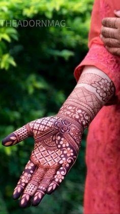 Floral Henna Designs, Henna Tattoo Designs Simple, Latest Bridal Mehndi Designs, Full Hand Mehndi Designs, Stylish Mehndi Designs, Mehndi Designs 2018, Henna Art Designs, Mehndi Designs For Girls, Wedding Mehndi Designs