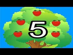 Way Up High in an Apple Tree by The Learning Station A popular activity song that teaches math skills and helps children recognize the numbers 1-5.