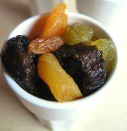 Come consumare e reidratare frutta e verdura essiccati