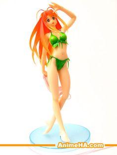 figurine manga love hina