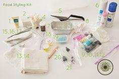 Food Styling Kit | Food Photography Blog