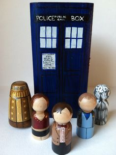 the scifi collection  doctor who by thewhimsicalsweet on Etsy, $60.00