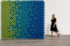 Scale Folded Acoustic Modules by Cabs Design for FilzFelt - Design Milk