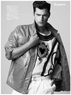 Sean OPry Covers Debut Issue of Esquire Serbia