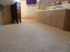 Die 9 besten Bilder von Steinteppich | Bathroom remodeling, Counter ...