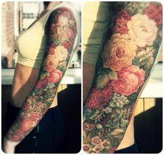 ... tatuaże: kobiece rękawy / Awesome tattoo ideas for ladies