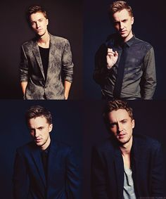 Geez, the boys of HP have grown up. Tom Felton is just turning into quite the… Draco Malfoy, Draco And Hermione, Severus Snape, Ron Weasley, Hermione Granger, Tom Felton, Harry Potter Cast, Harry Potter Characters, Slytherin