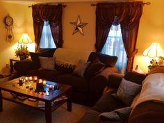 Apartment Living Room...minus the flowers