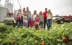 For four generations, our tomatoes have been grown on local, Midwest family farms…although not all of them are our next door neighbors anymore, they are all our friends and have the same passion to produce perfect tomatoes as we do! Learn more at abettertomato.com #abettertomato