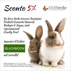 ★ Bits Of Black Moon ★ EcoBio Blog: [Sconti - Promozioni] - Sconto da Ecco Verde