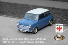 Classic Mini at the David Manners Group/Mini Spares Midlands http://www.jagspares.co.uk/Mini/company.asp