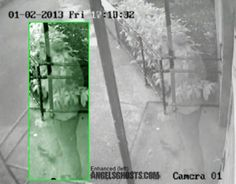 http://www.angelsghosts.com  Transparent man caught on surveillance footage, walking out of a London retirement community in 2013.