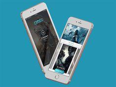 Cimer Cinema App by Framgia Design