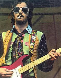 "Eric Clapton --friend of the Beatles, and wife stealer. Pattie BOyd inspired ""Something"", and then the overplayed ""LAYLA"" by Eric Clapton going as Deric & the DOminoes Music Love, Music Is Life, Rock Music, My Music, Eric Clapton, Recital, The Yardbirds, Look Man, We Will Rock You"