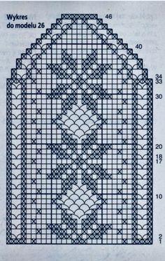Patterns and motifs: Crocheted motif no. Crochet Patterns Filet, Crochet Diagram, Doily Patterns, Crochet Motif, Crochet Doilies, Sewing Patterns, Crochet Table Runner, Crochet Tablecloth, Holiday Crochet