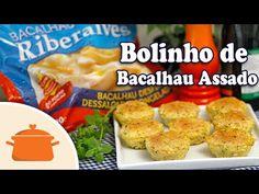 PANELATERAPIA - Blog de Culinária, Gastronomia e Receitas: Bolinho de Bacalhau Assado