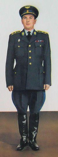 1959 pattern Czechoslovak Air Force generals' summer service dress uniform.