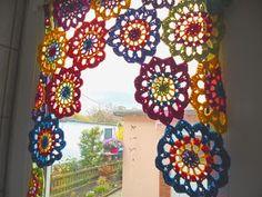 Die 519 Besten Bilder Von Gardinen Häkeln Crochet Curtains