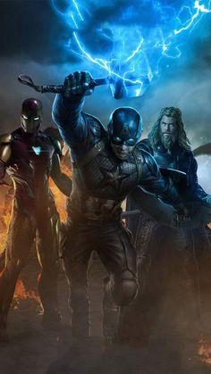 Avengers Heroes iPhone Wallpaper - iPhone Wallpapers
