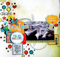 You're awesome - Scrapbook.com  By Luzinha