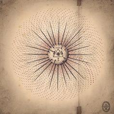 Atomic Mystery by Daniel Martin Diaz / Sacred Geometry <3