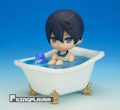 Free! Iwatobi Swim Club Bath Defo Figure: Haruka Nanase