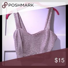 Gold shimmery bra top , new with tags! NWT Tops