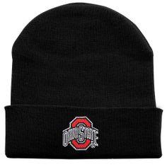 NCAA Ohio State Buckeyes Newborn Cuffed Knit Beanie - Black Football Fanatics. $8.95