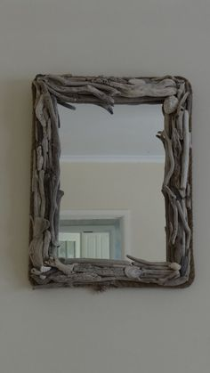 Beautiful Up-cycled Driftwood Mirror