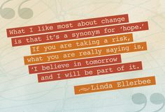 A quote to kickstart real change.
