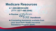 Medicare and You   Resources for Open Enrollment - We are a Tradition of Caring! For more information on services we provide visit us at www.wapakonetamanor.com.