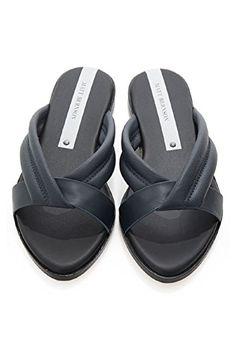 fb36c2757e0fc8 Matt Bernson Womens Raven Slides 8 Deep Ocean     Learn more by visiting  the image link. Sandals For Women