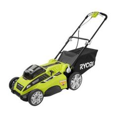Ryobi, 20 in. 40-Volt Lithium-ion Brushless Cordless Walk-Behind Electric Lawn Mower - Battery and Charger Not Included, RY40107A at The Home Depot - Mobile