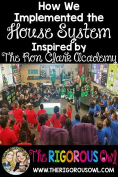 How We Implemented The House System Inspired by The Ron Clark Academy at Our School – The Rigorous Owl – Best Education Classroom Behavior, Future Classroom, School Classroom, Classroom Activities, Classroom Organization, Classroom Ideas, Reading Activities, Educational Activities, Physical Activities