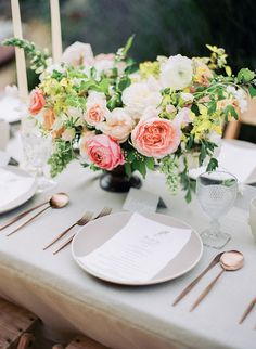 Bridal Bouquet Inspiration - Film & Flora Workshop | Wedding Sparrow | Steve Torres Photography