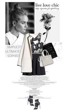 """""""Always classy never trashy and a little bit sassy"""" by soulflare13 ❤ liked on Polyvore featuring Giuseppe Zanotti, H&M, MANGO and Prada"""