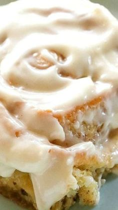 Soft Cinnamon Rolls ~ an absolute no-fail recipe filled with cinnamon and covered with cream cheese frosting. Vanilla pudding in the dough keeps the whole roll soft not just the center: