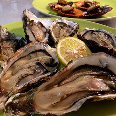 伊勢志摩の牡蠣の炙り焼き