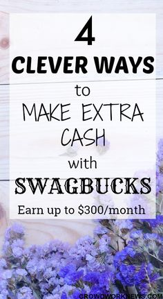 Of all the 'get-paid-to' sites, Swagbucks is one of the most legitimate and time worthy website which has some really great ways to make extra cash. If you want to earn some extra income, this is what you need. #money #workfromhome