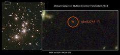 Hubble Abell 2744 Galaxy