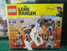 Sealed NEW LEGO Disney RARE ERROR Box LONE RANGER Set 79108 STAGECOACH ESCAPE