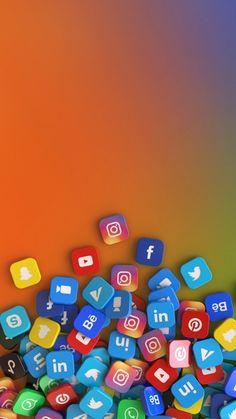 Social Networks, Social Media, 3d Rendering, Badge, Color, Colour, Badges, Social Media Tips, Colors