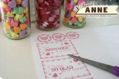 Sweet Candy Bottles [Free Printable]