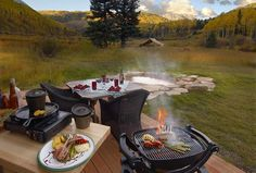 Dutton hot springs nestled in the San Juan mountains of Colorado